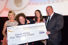 DanceAbility Wins First Prize in NOVAs  Short film Comp